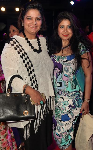 Entrepreneur Ruchiekka Krishnani with Malvika Kaura