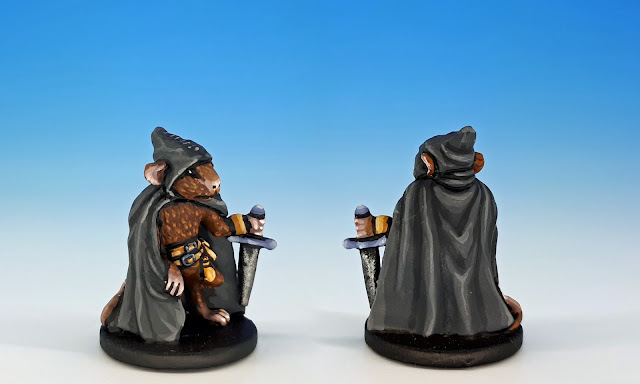 Filch painted miniature for Mice and Mystics