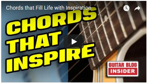 Chords that Fill Life with Inspiration... | Creative Guitar Studio