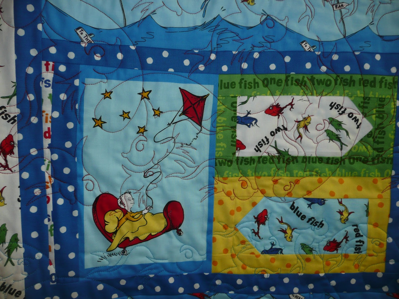 my pin quilts i have quilt fish for great granddaughter made
