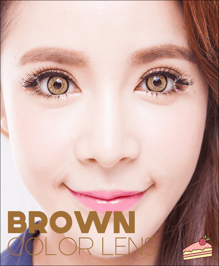 eos dolly eye brown colored contacts