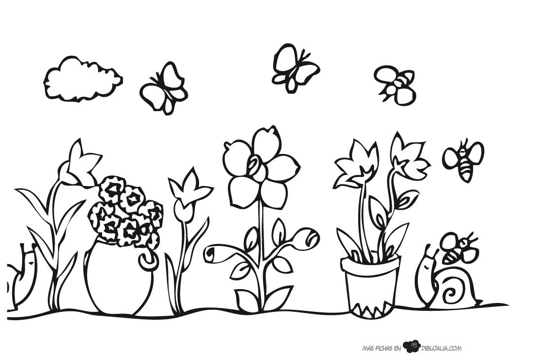 Blog MegaDiverso: Dibujos De Paisajes Para Pintar