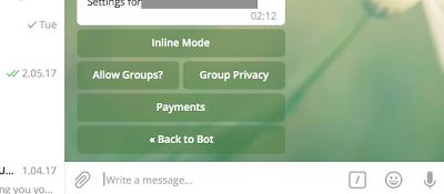 telegram платежи