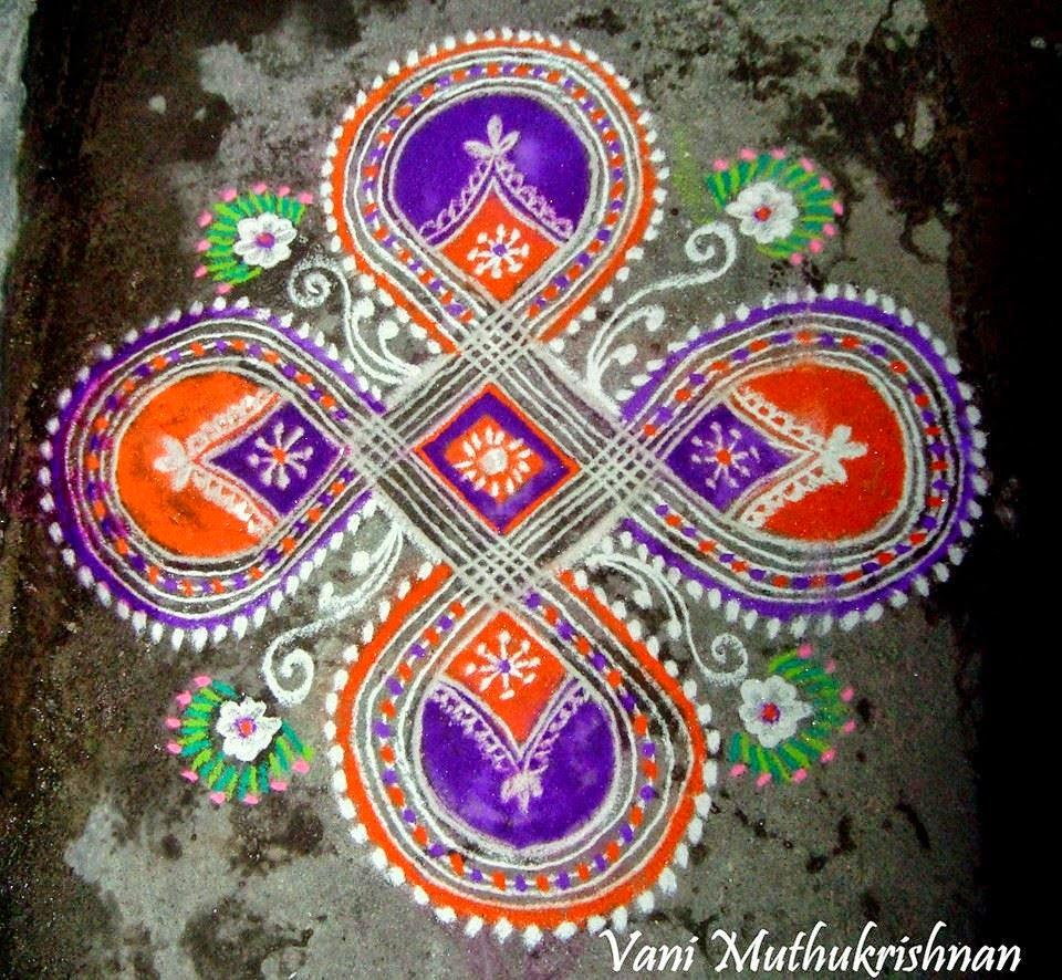 Kolam Designs 14