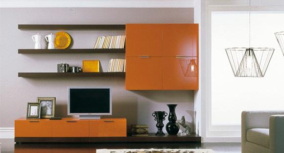 Pareti Grigio E Arancio : Consigli per la casa e l arredamento le porte in wengè