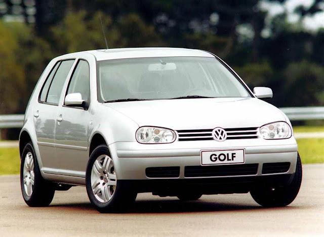 VW Golf 2003 - recall