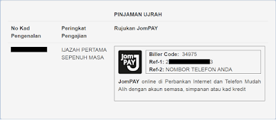 Pinjaman Ujrah JomPAY