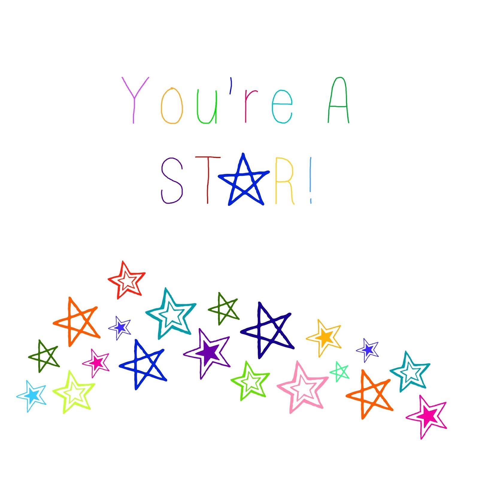 You Re A Star Teacher Appreciation T