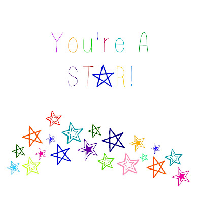 You're A Star! Teacher Appreciation Gift Free Printable - One Mile Home Style