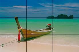 Imagem de um Barco na beira da Praia