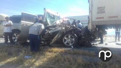 TRES PERSONAS SALVAN SU VIDA TRAS APARATOSO ACCIDENTE