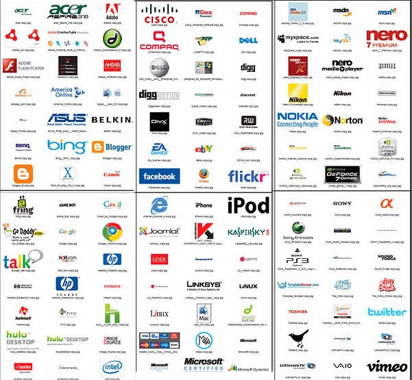List of company logos with names and pictures pdf
