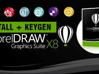 Cara Install CorelDraw Graphic Suite X8 + Crack