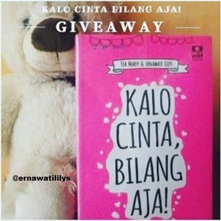 GiveAway Buku Kalau Cinta Bilang Saja!