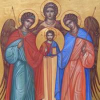 Santos Arcanjos Gabriel, Rafael e Miguel