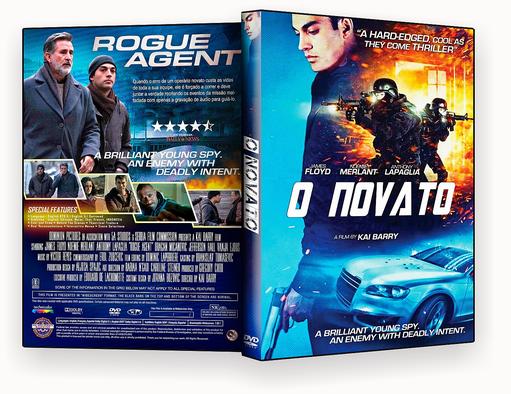 CAPA DVD – O Novato 2017 DVD-R AUTORADO