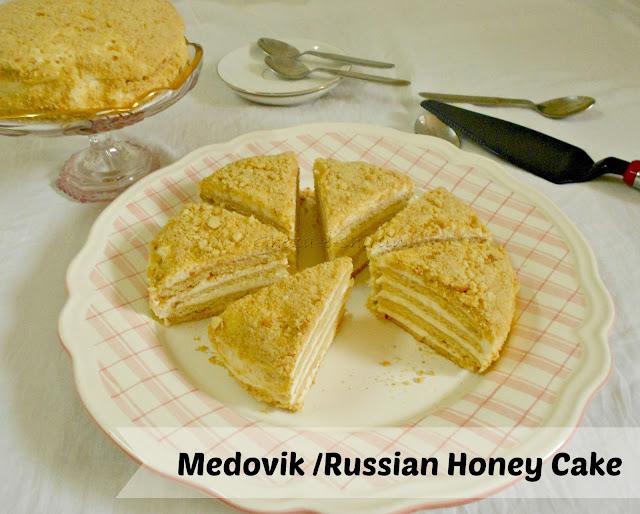 MEDOVIK / RUSSIAN HONEY CAKE - BP Challenge