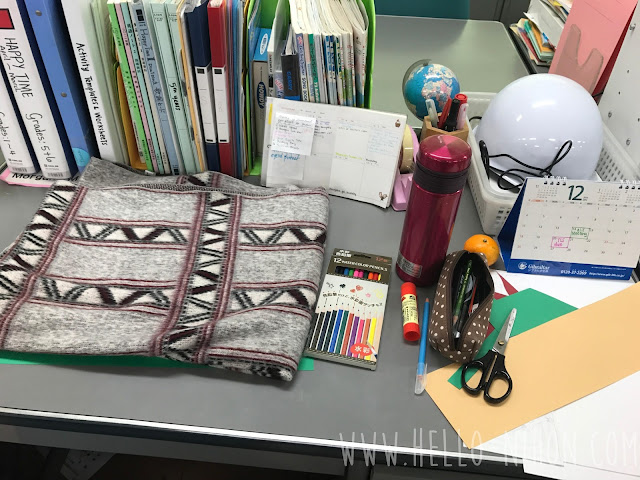 ALT in Japan - desk