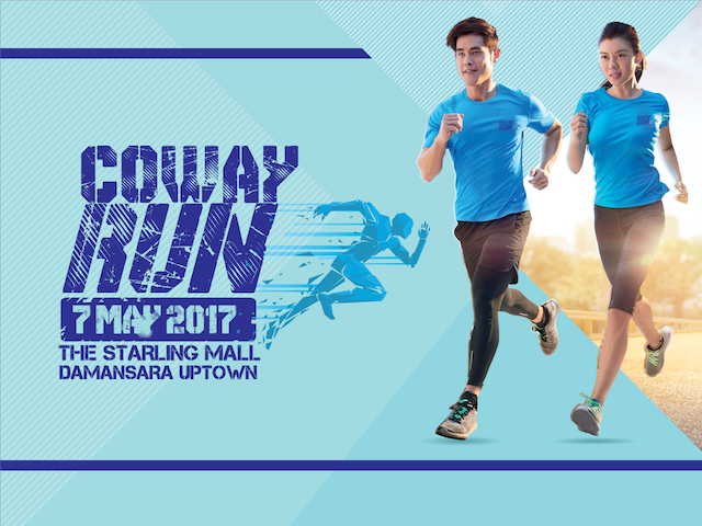 Coway Run this 7th May 2017