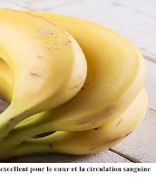 bananes ont assez de potassium,pour santé sexuelle