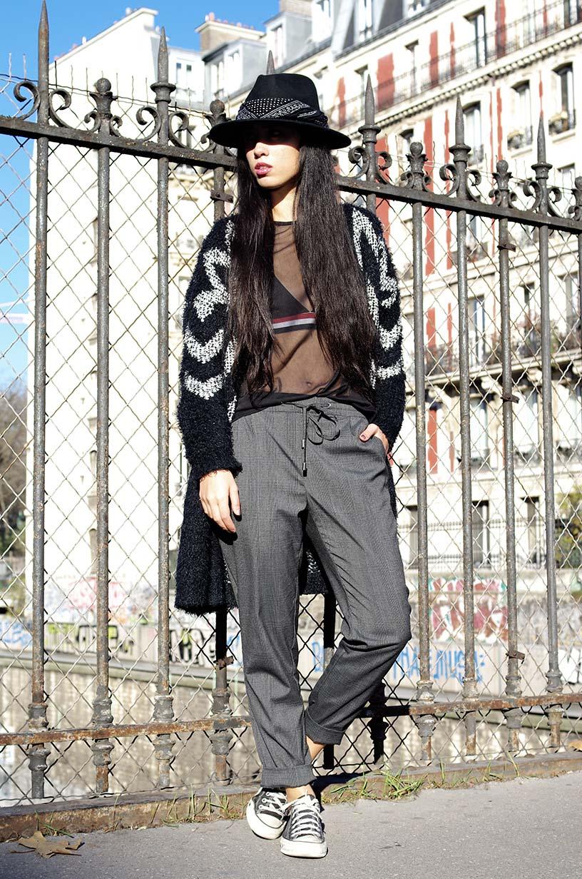 Elizabeth l Sheer black top outfit l Missguided Zara l blog mode l THEDEETSONE l http://thedeetsone.blogspot.fr