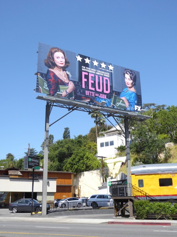 Feud Bette Joan Emmy FYC billboard