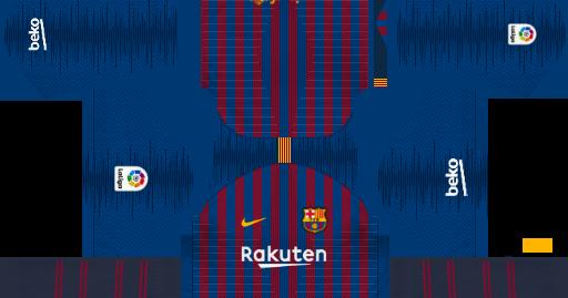 dca29295b FC Barcelona Kits 2019 2020 in La Liga - Dream League Soccer kits 2019 -