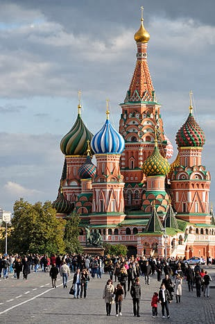 Saint Basil's Cathedral on the Red Square
