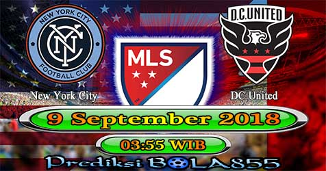 Prediksi Bola855 New York City vs DC United 9 September 2018