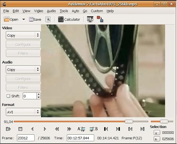 Aplikasi Edit Video PC Avidemux