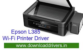 Download epson l385 printer driver