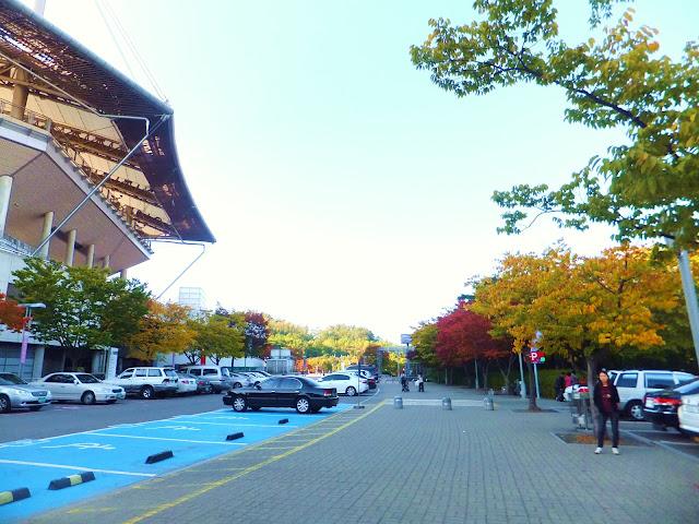 Happydalkis: 18 Oct 2012 - Getting to 하늘공원 Haneul Park