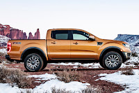 Ford Ranger SuperCrew (2019 North American Spec) Side