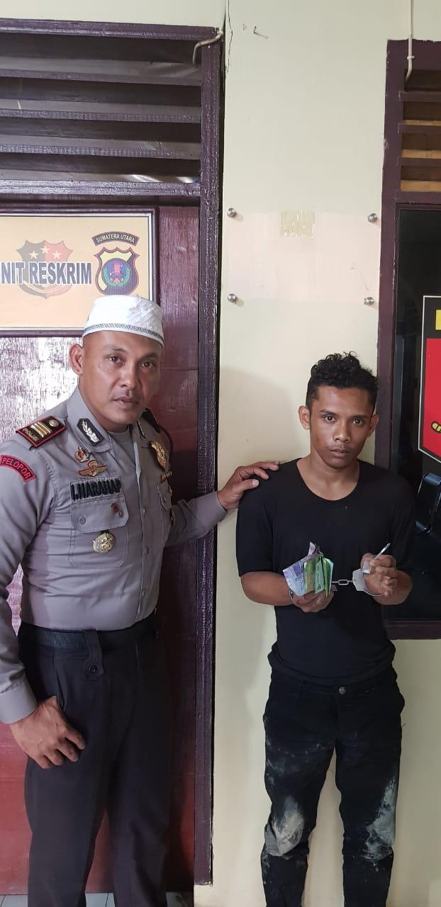 Pengedar Sabu-sabu Ditangkap Polsek Tanjung Morawa
