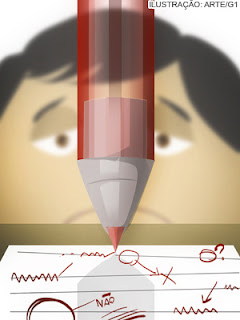 Opinião: Ao rabiscar texto da criança professor desestimula escrita