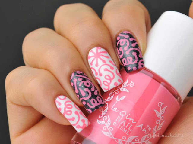 BORN PRETTY: Stamping Polish / Ya Qin An 'Pink'