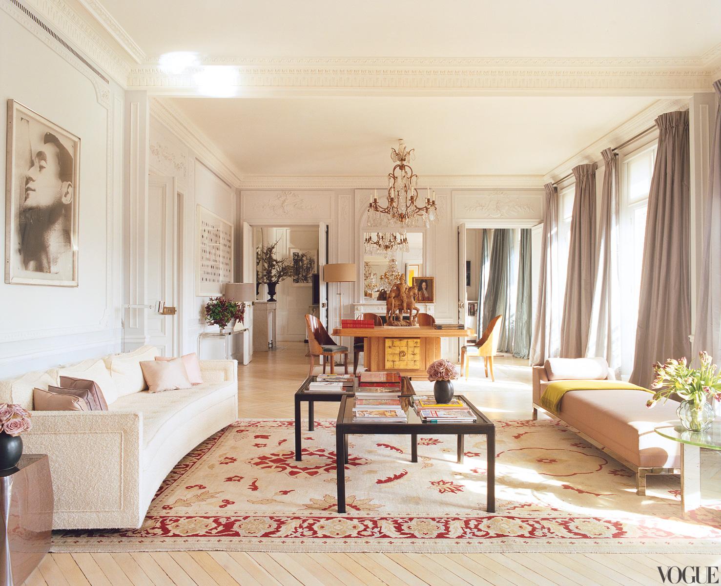 L Wren Scott S Paris Apartment Living Room Via Belle Vivir
