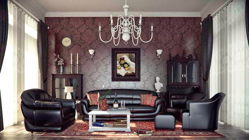 Living Room Colour Schemes With Black Sofa Home Remodeling