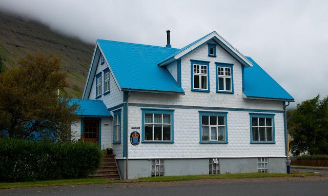 Típica casa islandesa