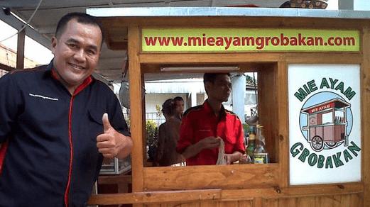 Penjual Mie Ayam Paling Kaya Rasa Waralaba