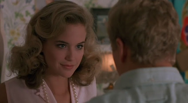Kelly Preston with look of lust before sex