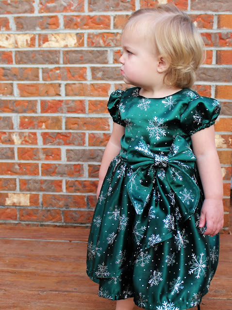 Poinsettia Party Dress GYCT