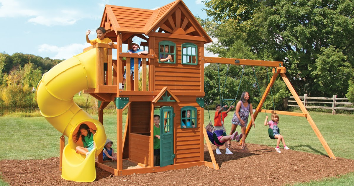 Cedar Summit Mountainview Resort Playset From Costco