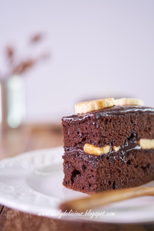 Full Chocolate Cake Recipe