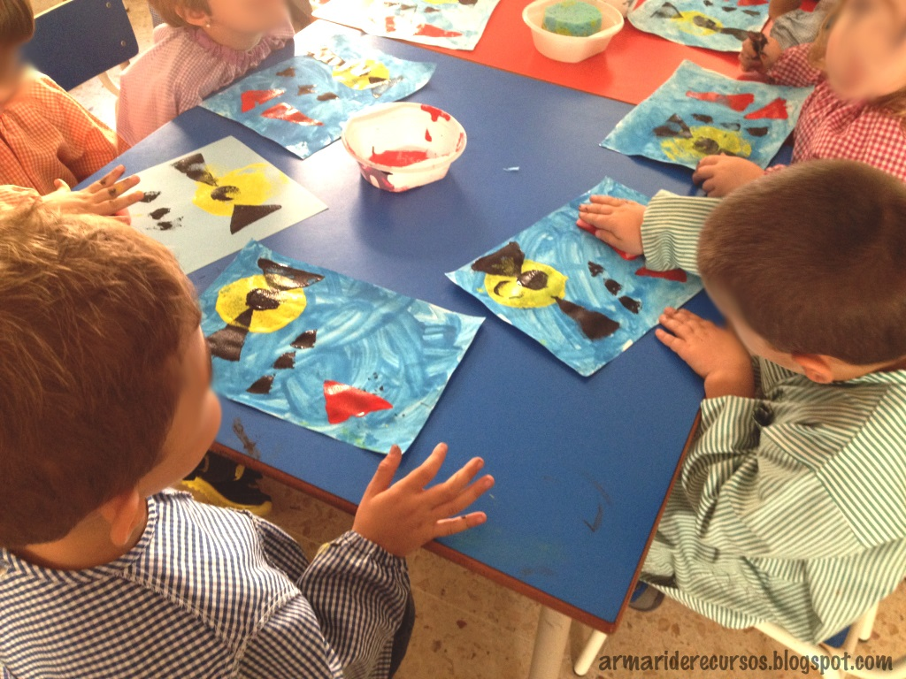 Arte en educaci n infantil wassily kandinsky el armario for Actividades para jardin infantil