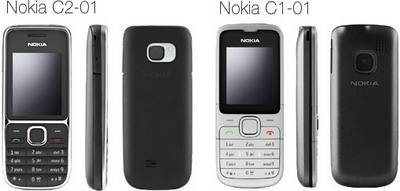 Nokia C2-01 and C1-01 for Orange UK coming