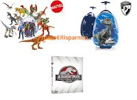Logo Concorso ''Mettiti in Salvo'' e con Carrefour vinci premi Jurassic Park