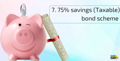 New 7.75% Savings (Taxable) Bond Scheme