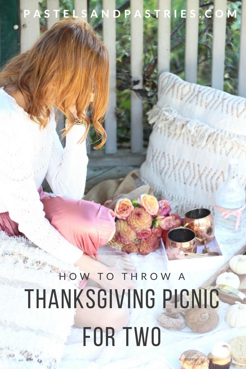 Kelly's Bake Shoppe- Ontario gluten free vegan bakery, Thanksgiving Picnic for two, picnic essentials