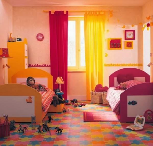 Habitaciones para ni o y ni a ideas para decorar dormitorios - Suelo habitacion ninos ...